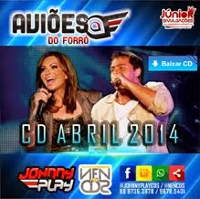 AVIÕES DO FORRÓ - CD ABRIL 2014