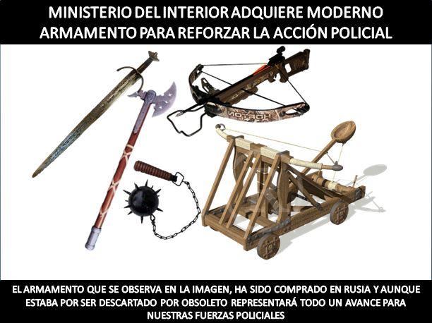 A teclazo limpio im genes de los ltimos d as ojo que for Sueldos del ministerio del interior