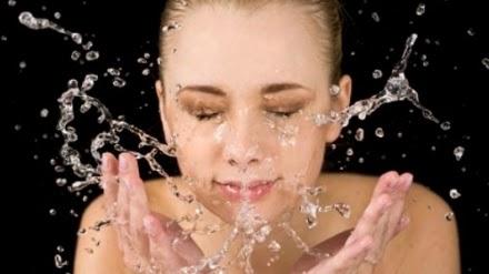 cuci wajah
