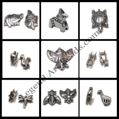 925 Sterling Silver Wholesale Animal Beads