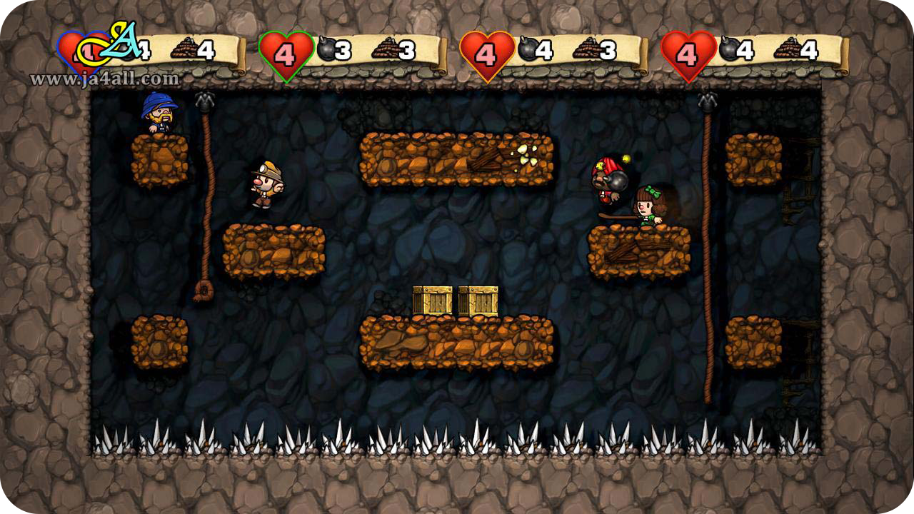 how to get the sloth in spelunky