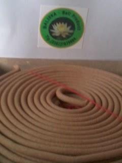DUPA BALI bentuk stick ,spiral,coil dll