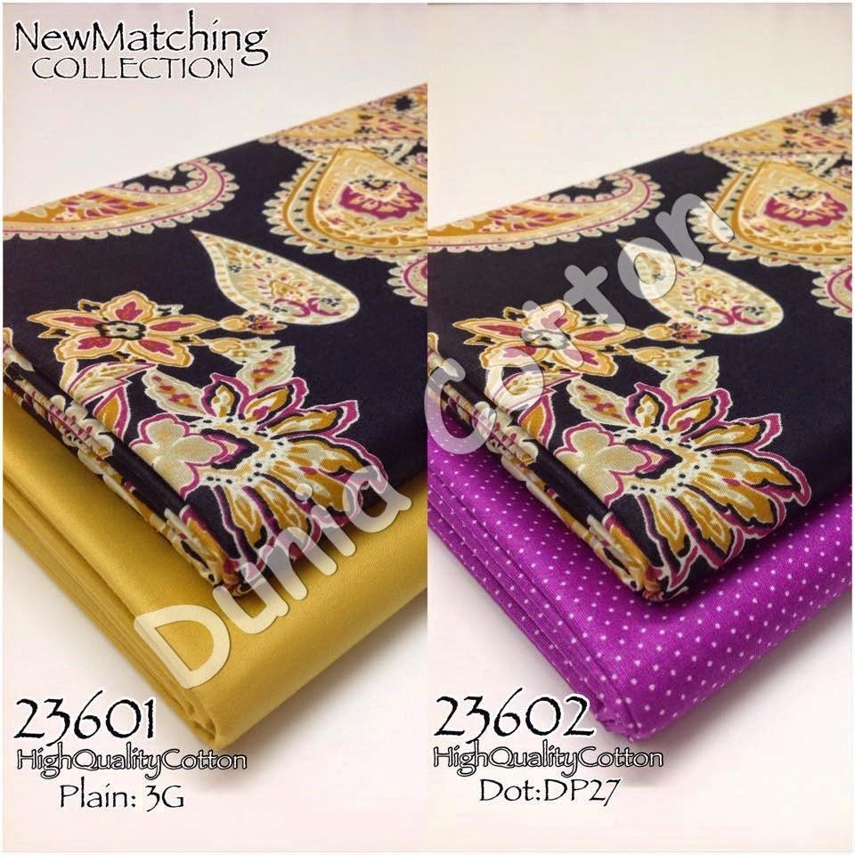 Kain English Cotton Gred AAA Matching Album 236