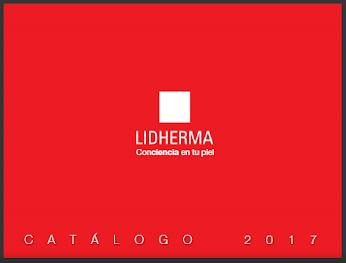 LIDHERMA - CATÁLOGO DE PRODUCTOS ABRIL DE 2017: