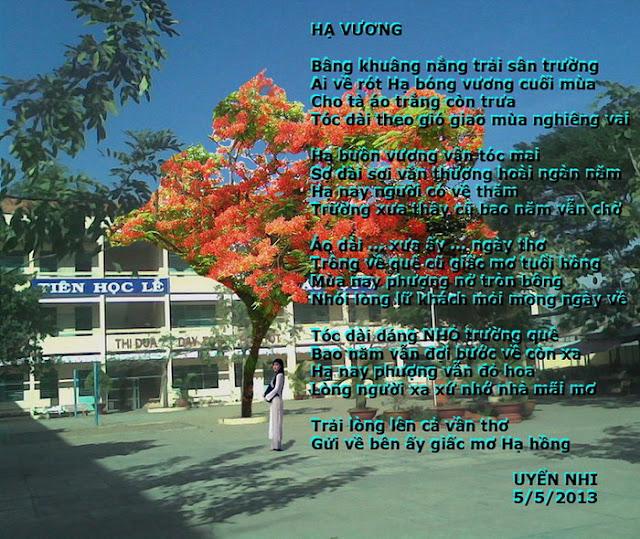 TRANH THƠ - UYENNHI HA+VUONG