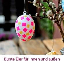 schnelle Eier-Deko zu Ostern