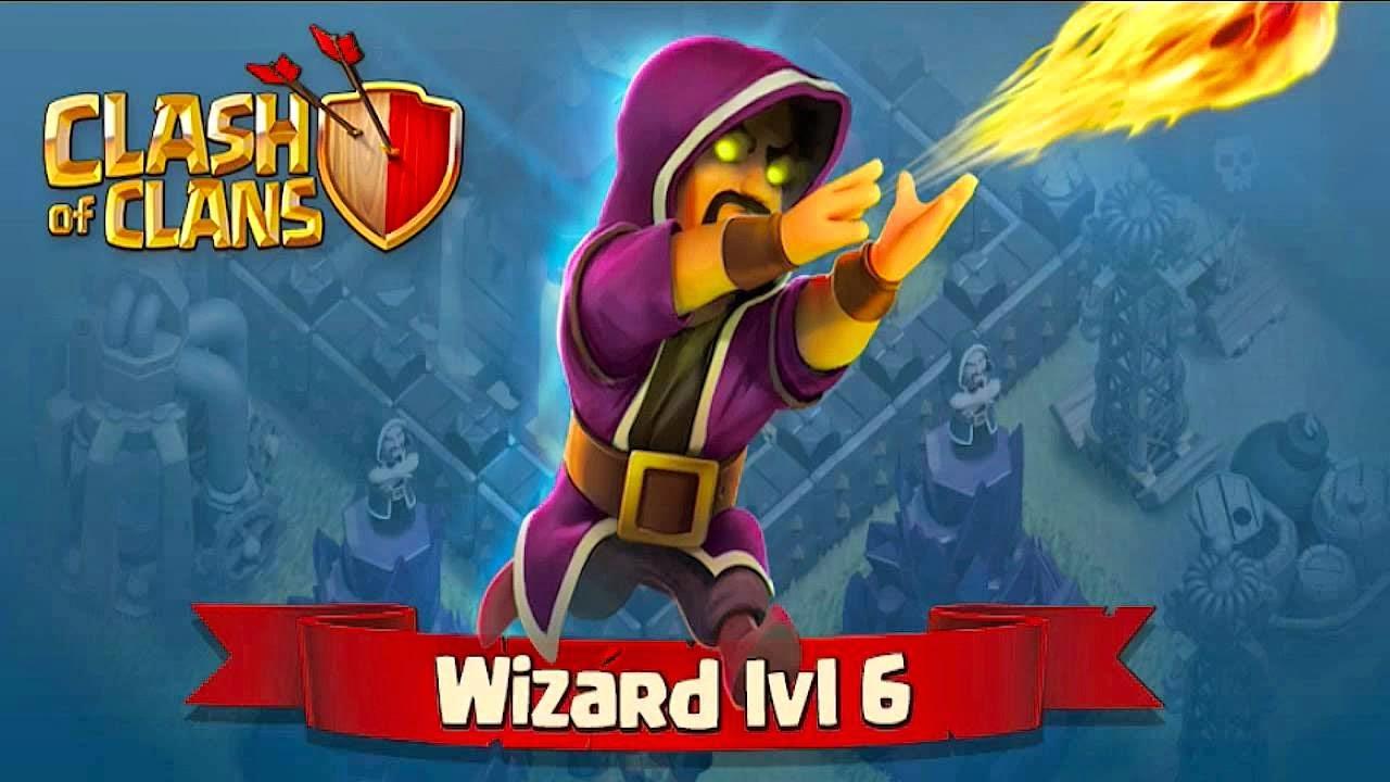 clash of clans desktop wallpaper wizard