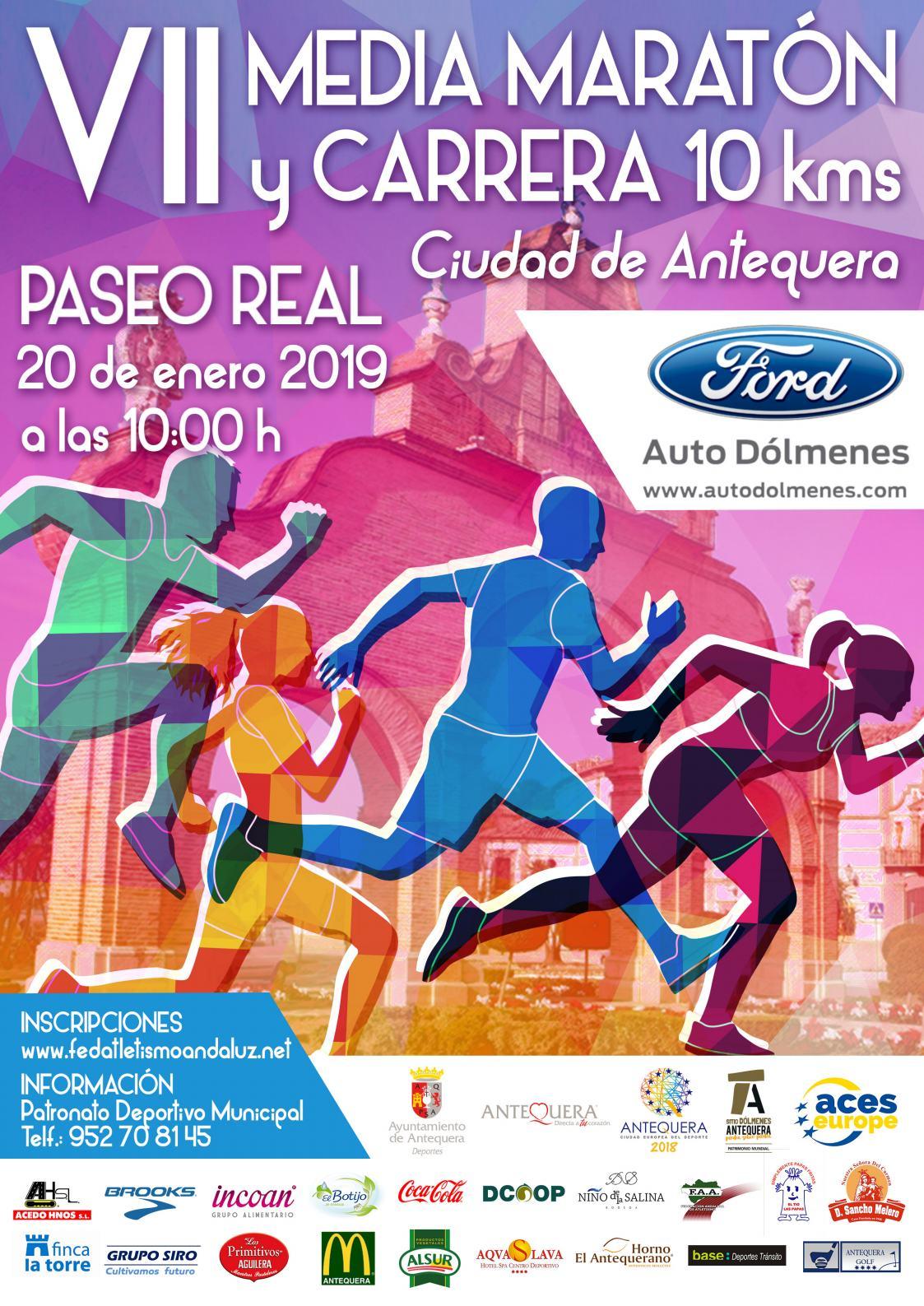 VII Media Maratón y 10kms Ciudad de Antequera