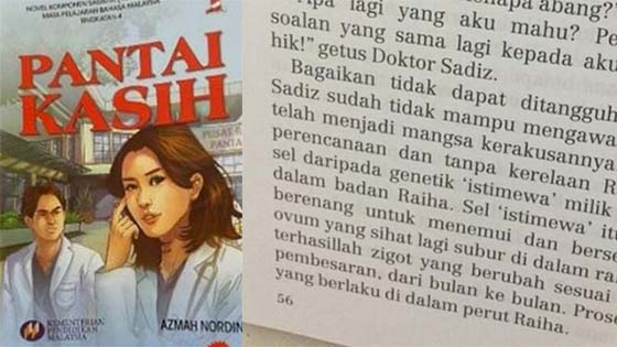 Penulis novel ulas novel Pantai Kasih yang didakwa lucah