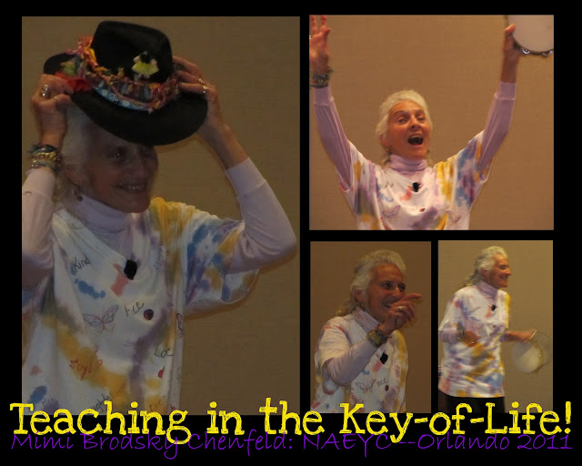 photo of: Mimi Brodsky Chenfeld: Teaching in the Key of Life