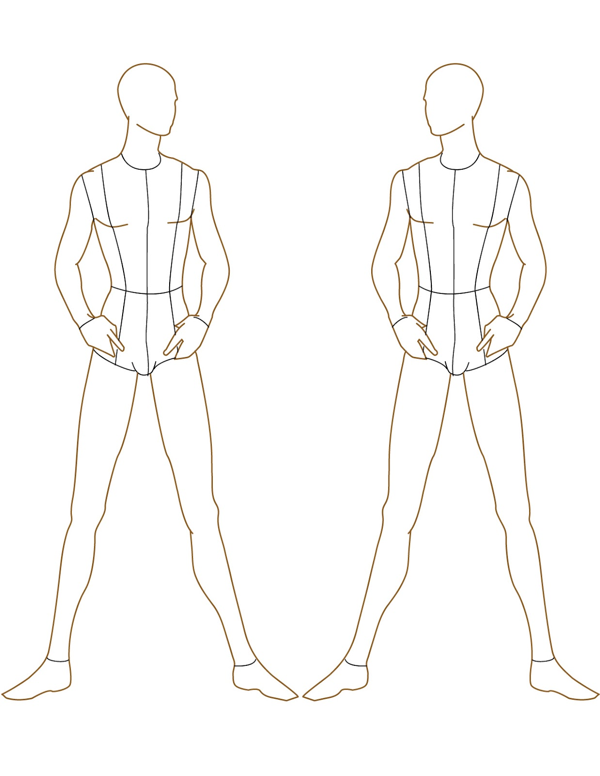 It's just a picture of Monster Fashion Drawing Templates