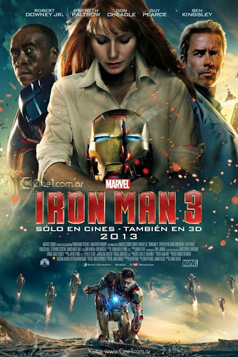 Iron Man 3 (BRRip 3D FULL HD Español Latino) (2013)