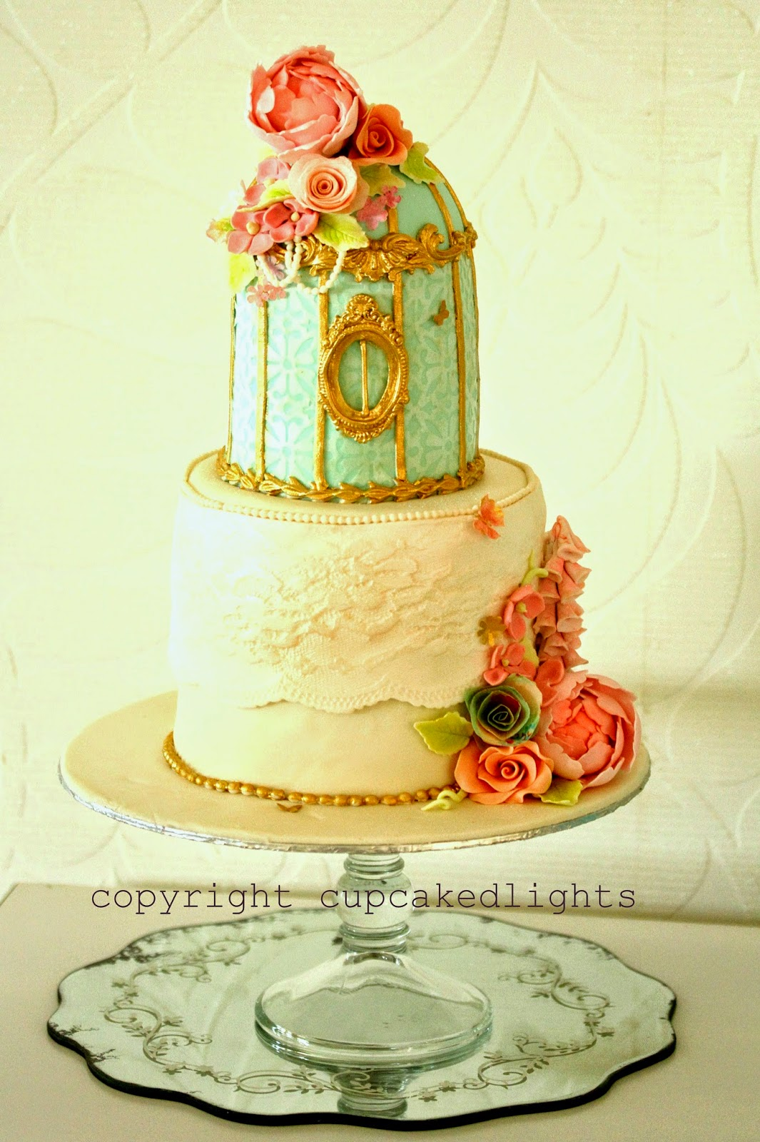 cupcake d\'lights {South Africa}: mini birdcage cake