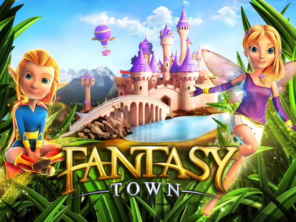 Descargar Fantasy Town [APK][ANDROID]