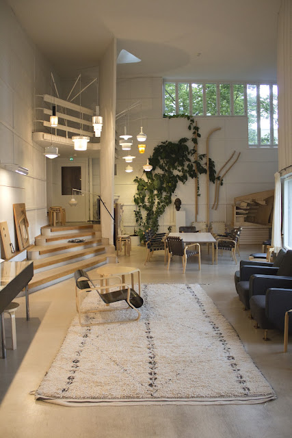 Alvar Aalto Studio in Helsinki - finnisches Design im Minimalismus