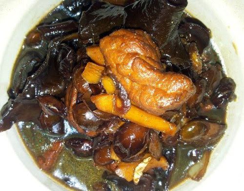 Simple and easy to do confinement recipes the extract from the trotter marrow have the gelatinous that provide the collagenis dish keeps your body warm one more thing if you are breast feeding forumfinder Gallery