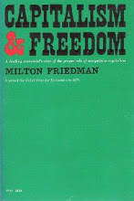 Capitalism and Freedom by Milton Friedman book