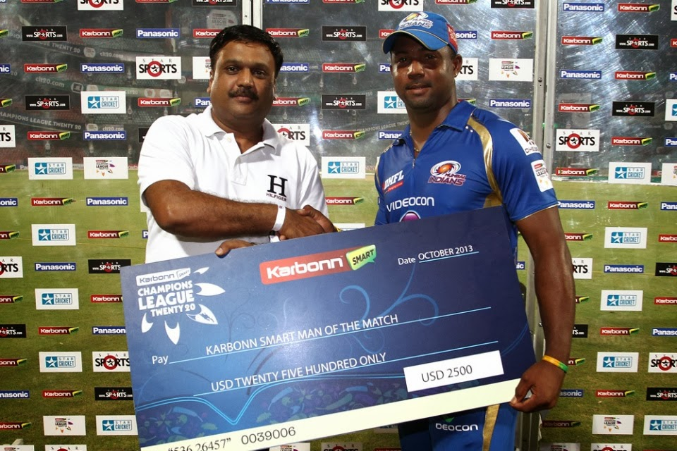 Dwayne-Smith-Man-of-the-Match-Trinidad-and-Tobago-vs-Mumbai-Indians-Report CLT20-2013