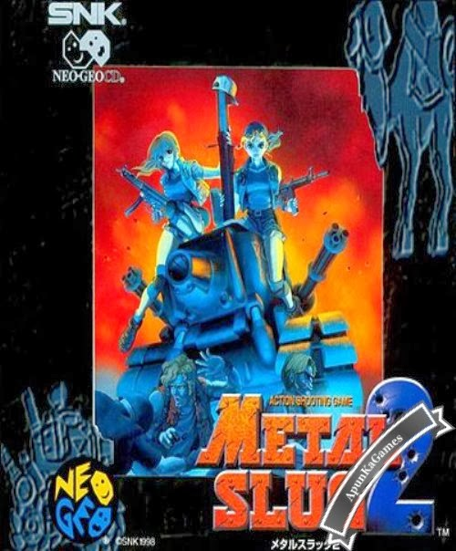 Metal Slug 2 Cover, Poster