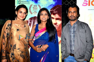 Bolly Celebs at 'Dhag' Premiere