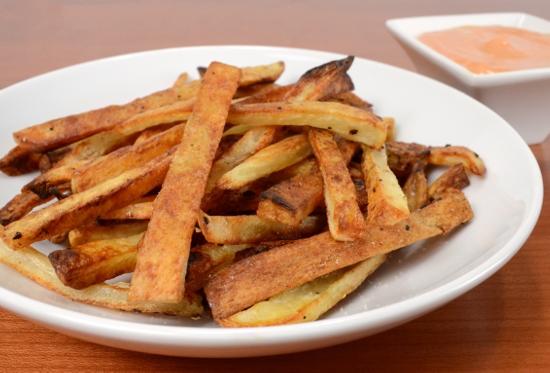 Картошка фри в духовке без масла рецепт с фото пошагово
