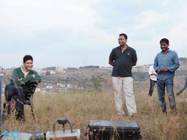 Srimanthudu Latest Working Stills | Mahesh Babu | Sruthi Hassan