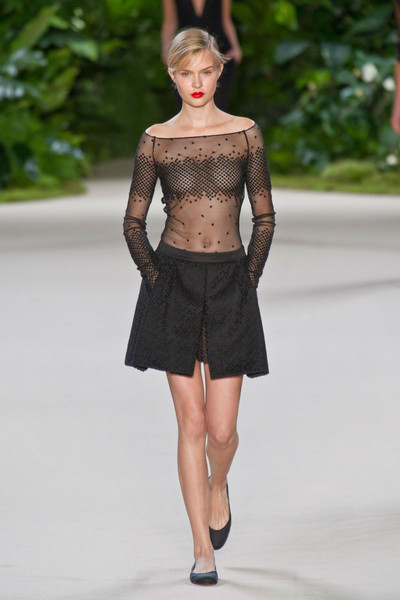 Revealing Sheer at Akris Spring/Summer 2013