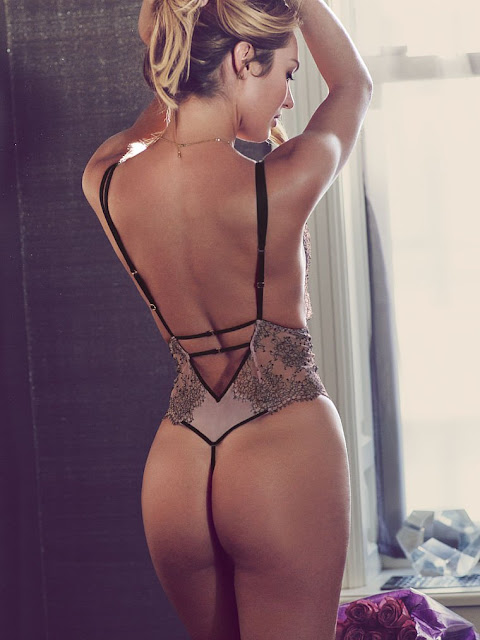 Candice Swanepoel sexy Victoria's Secret lingerie models photoshoot