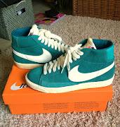 Segnalo questa asta su ebay di Nike Blazer Verde Acqua introvabili in italia .