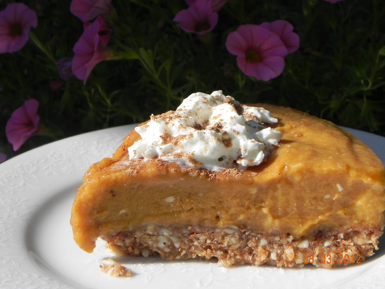 Eat Yourself Healthy & Happy: No Bake Pumpkin Mousse Pie (GF)