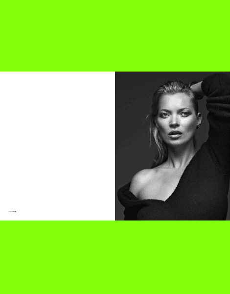 Kate Moss by Bryan Adams for Zoo Magazine No.40
