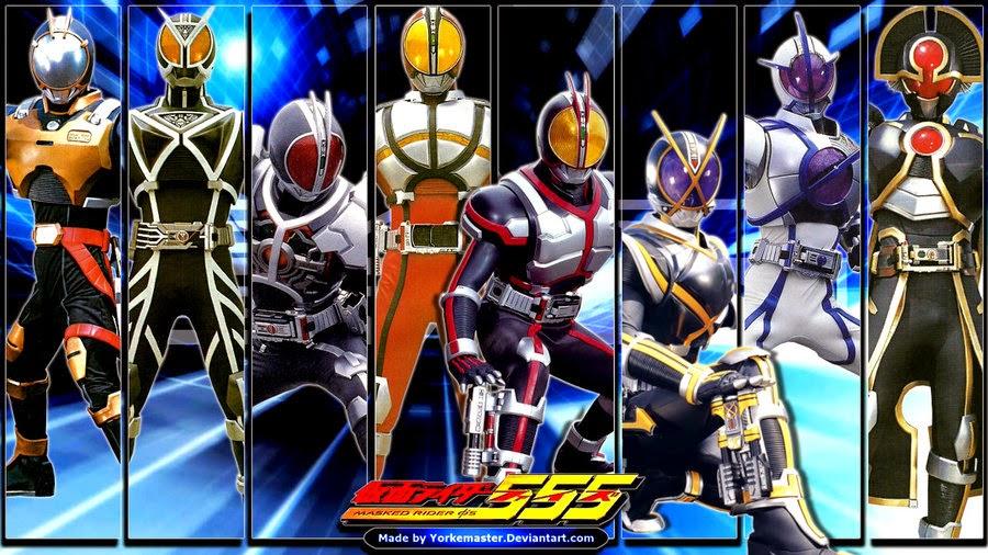 Info Dunia Anime Dan Tokusatsu : Kamen Rider Heisei