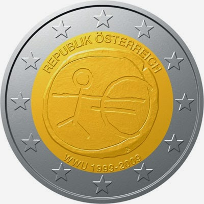 2 euro Austria 2009, Ten years of Economic and Monetary Union and introduction of the Euro