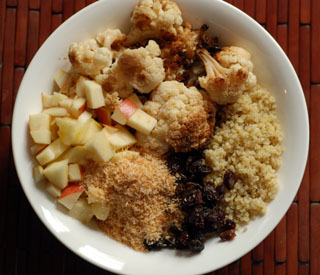 cauliflower and quinoa salad