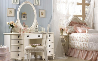 Como decorar um quarto com decorao vintage