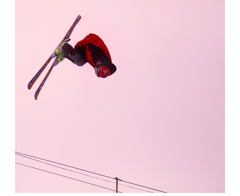 saut à ski la toussuire Alpes