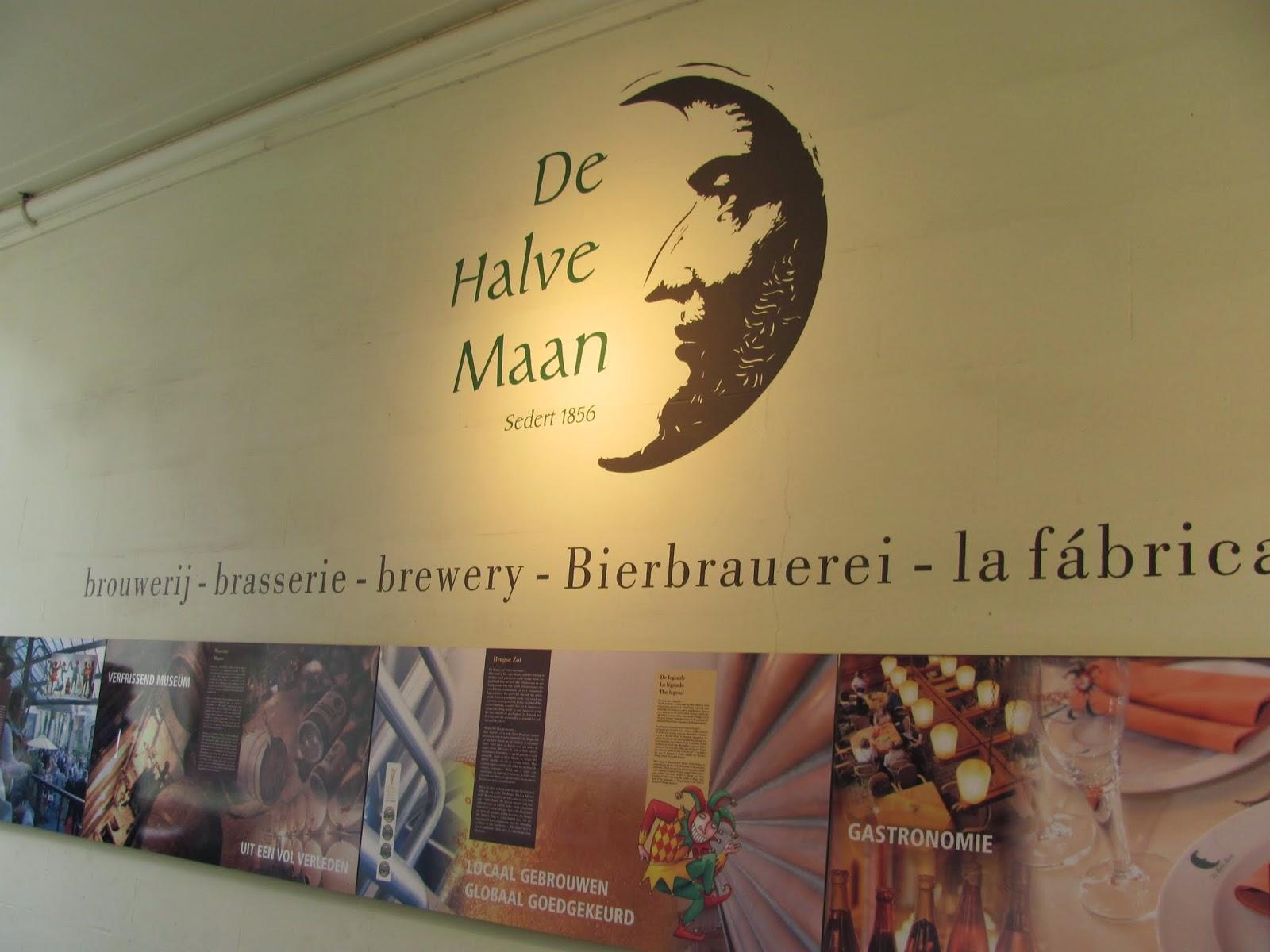 De Halve Maan Logo Bruges, Belgium