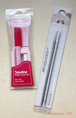 Sewline Fabric Glue and Appliquick Tool