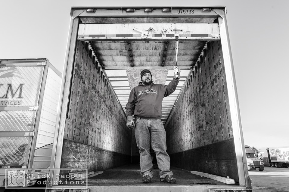 (c) Stick People Productions - Truck Driver - Kelly Doering, Photographer