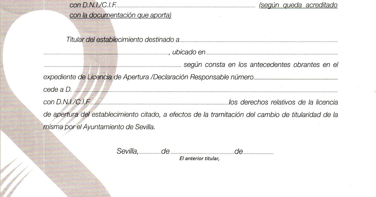 licencia de apertura sevilla solicitud ayuntamiento