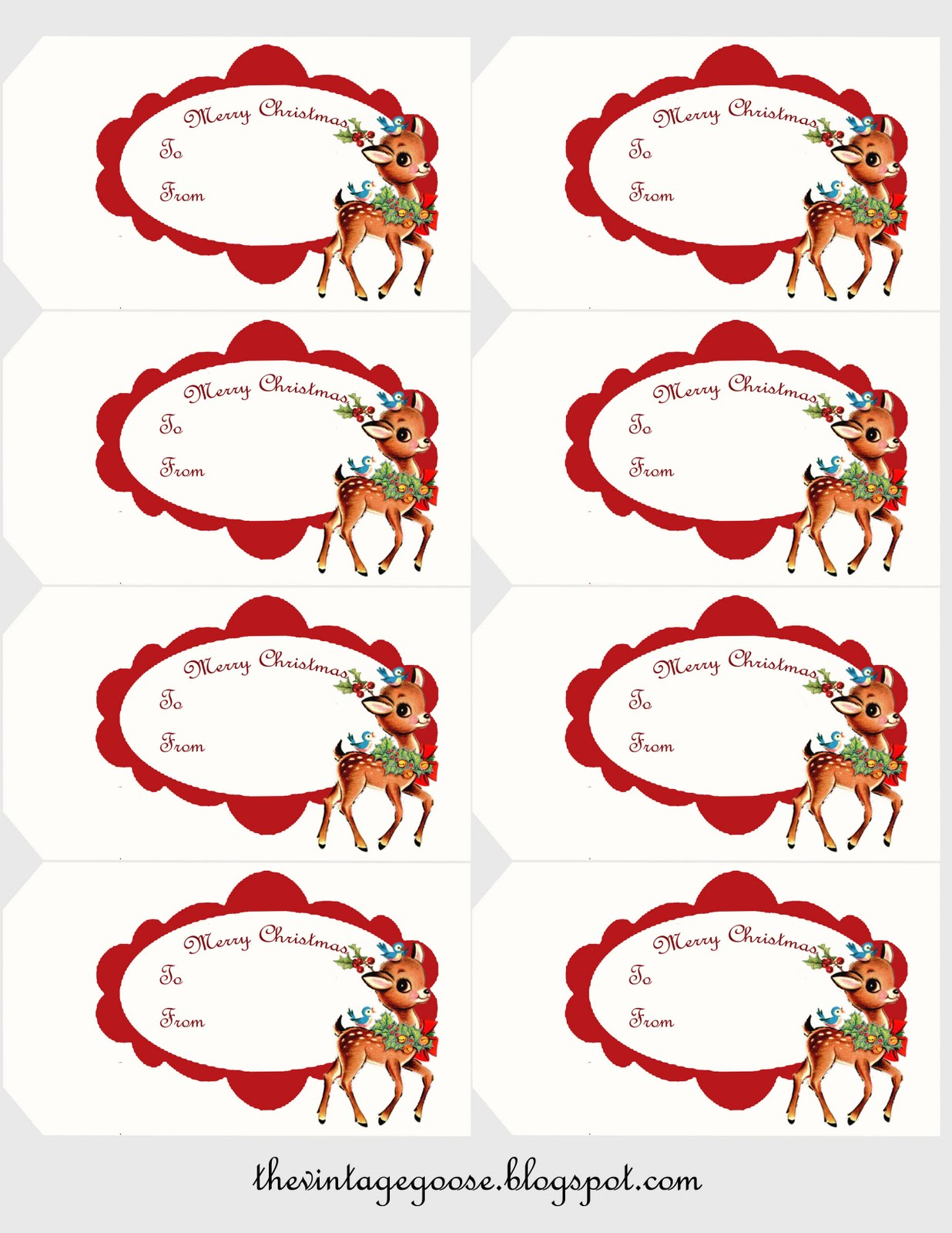 Christmas Gift Tag | New Calendar Template Site