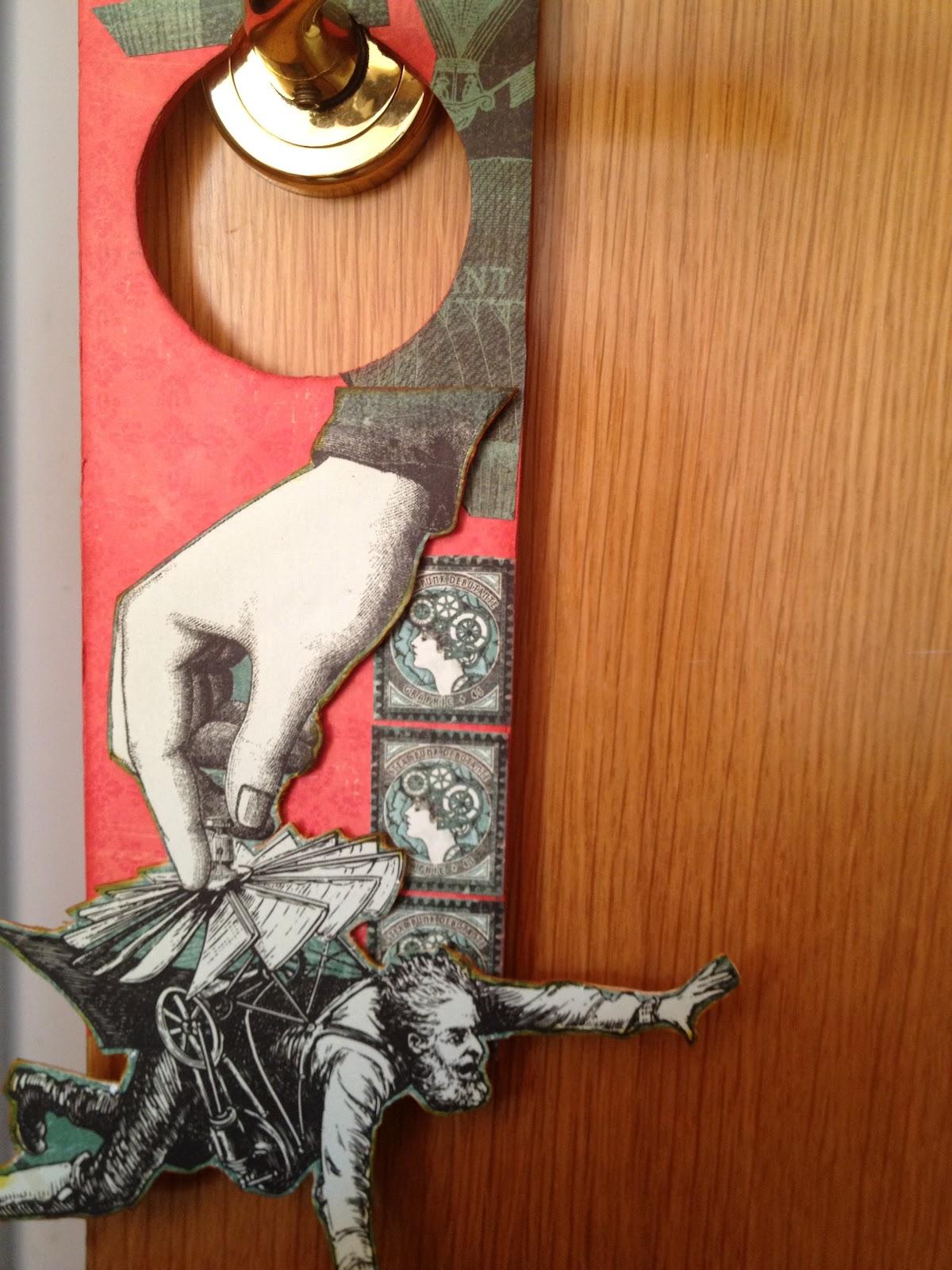 Feel the scrap colgador para la puerta for Perchas adhesivas para puertas