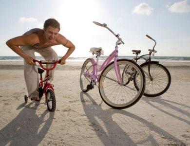 Banquinho mal ajustado da bicicleta pode causar impotência sexual