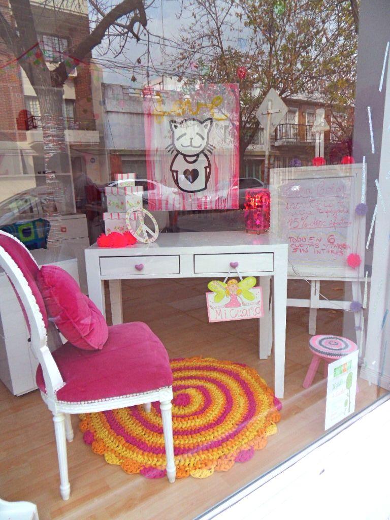 Escritorio y silla para princesas zona color - Sillas para tocador ...