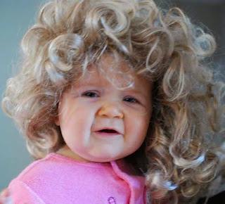 Gaya rambut lucu untuk anak perempuan