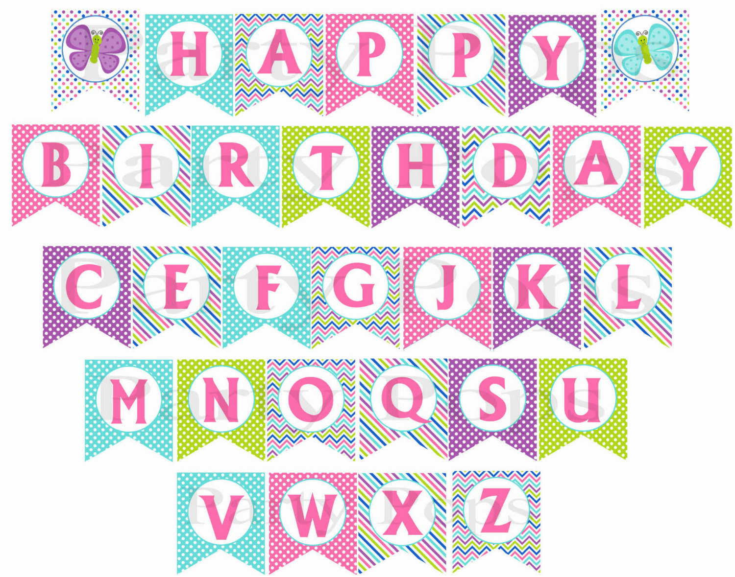 free printable birthday banners personalized - Maginezart
