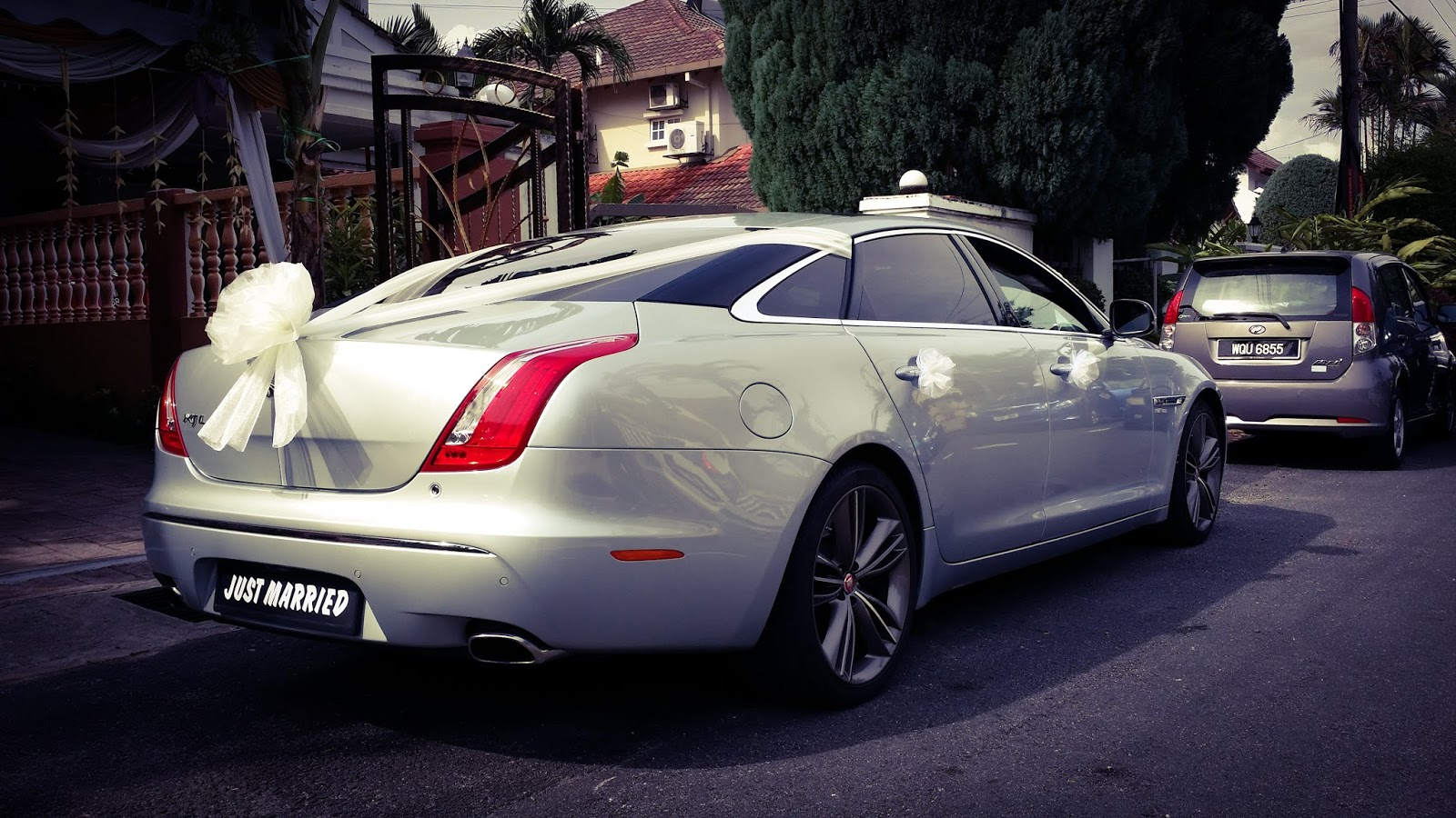Jaguar XJL (Silver) RM 3000 Per Day With Chauffeur. RM 2000 Half Day With  Chauffeur