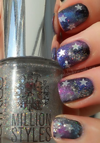 Day 19 - Galaxy Nails