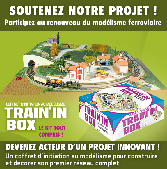 Train'in Box un projet en financement participatif