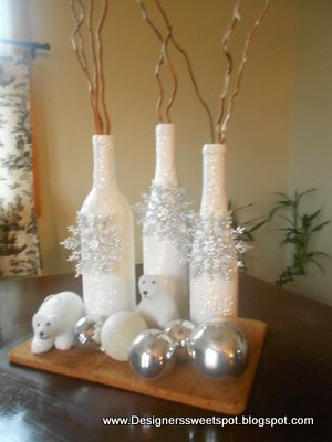 Ta Dah! Your done. I love easy projects! I added a few ornaments, and ...